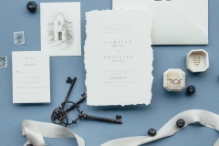 blue-wedding-invitation-dusty-blue-wedding-ideas-flatlay-styling-european-inspired-wedding-invitation-fine-art-florist-rose-and-laurel-minnesota-florist