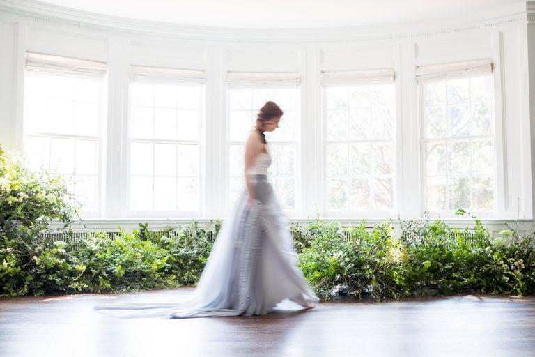 Garden Inspired Wedding in Blue