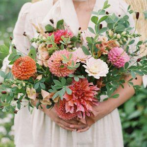 minnesota_dahlia_bouquet_orange_pink_burgundy
