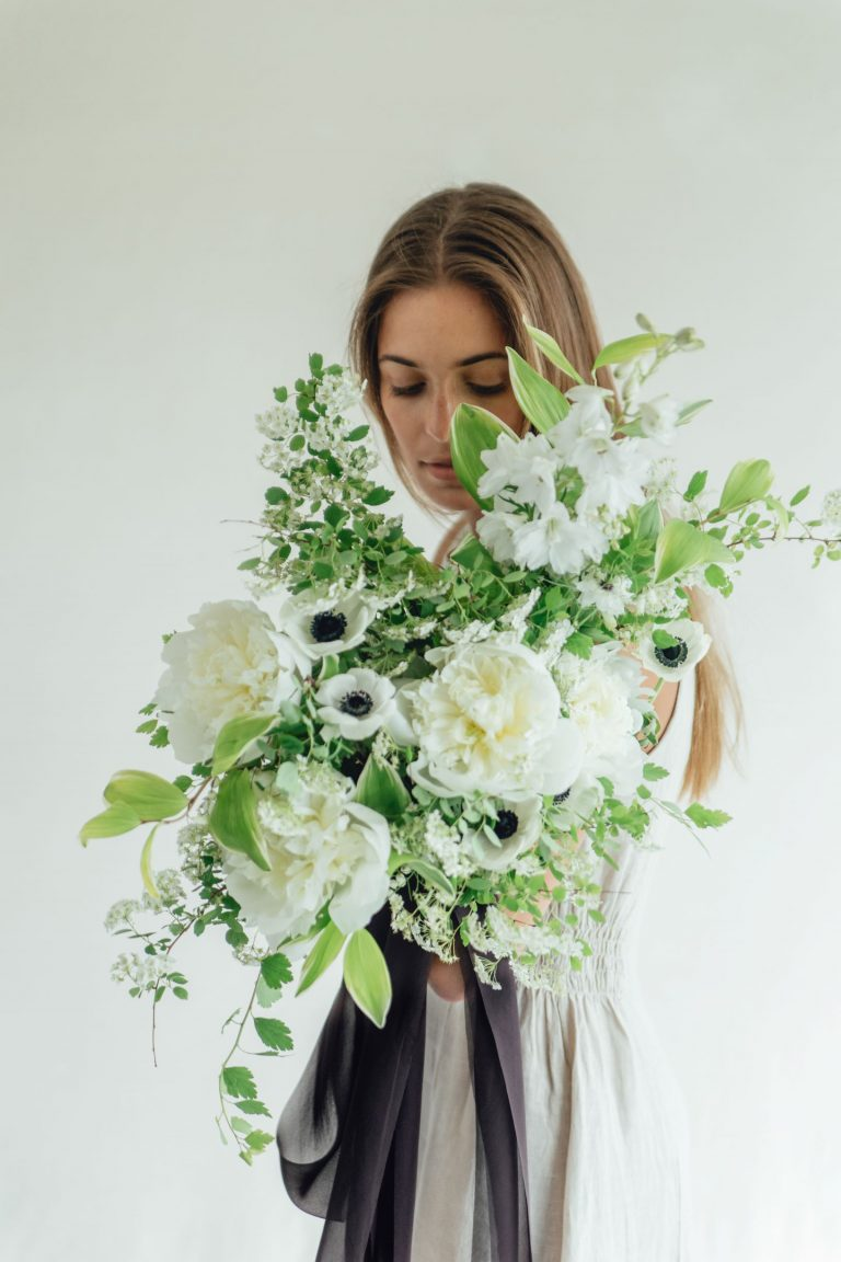 Sophisticated Black and White Wedding Inspiration