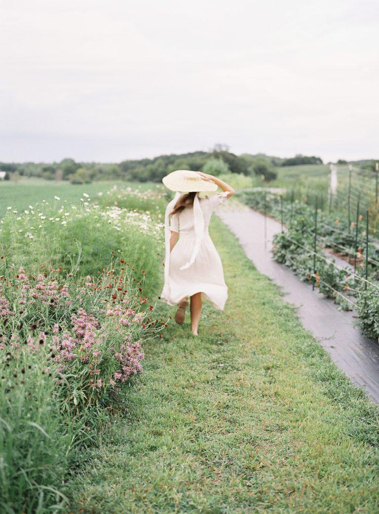 End of Summer Editorial at Blue Sky Flower Farm