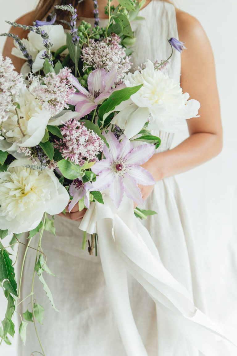 Wedding Floral Inspiration in Shades of Lavender