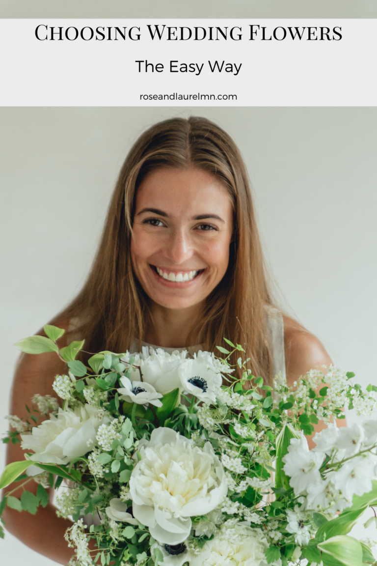 How to Choose Your Wedding Flowers: THE ONLY thing you need to know!