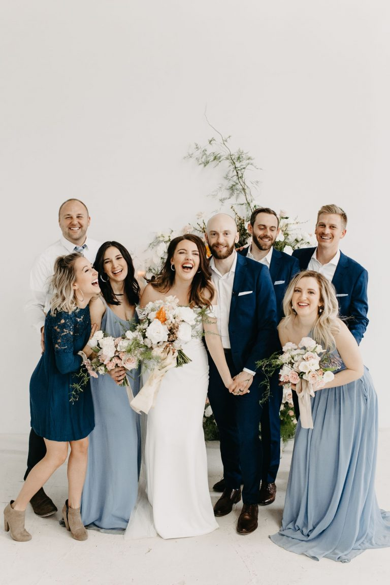 A Colorful, Spring Micro-Wedding at Studio Apparatus