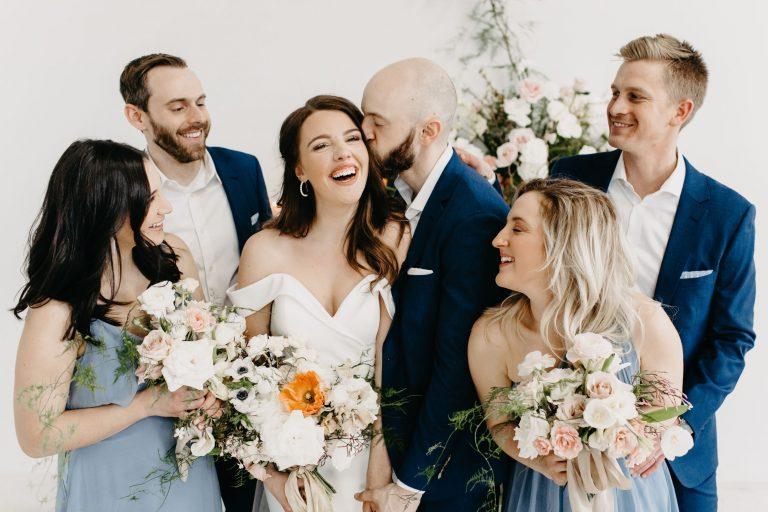 A Colorful Spring Micro Wedding At Studio Apparatus