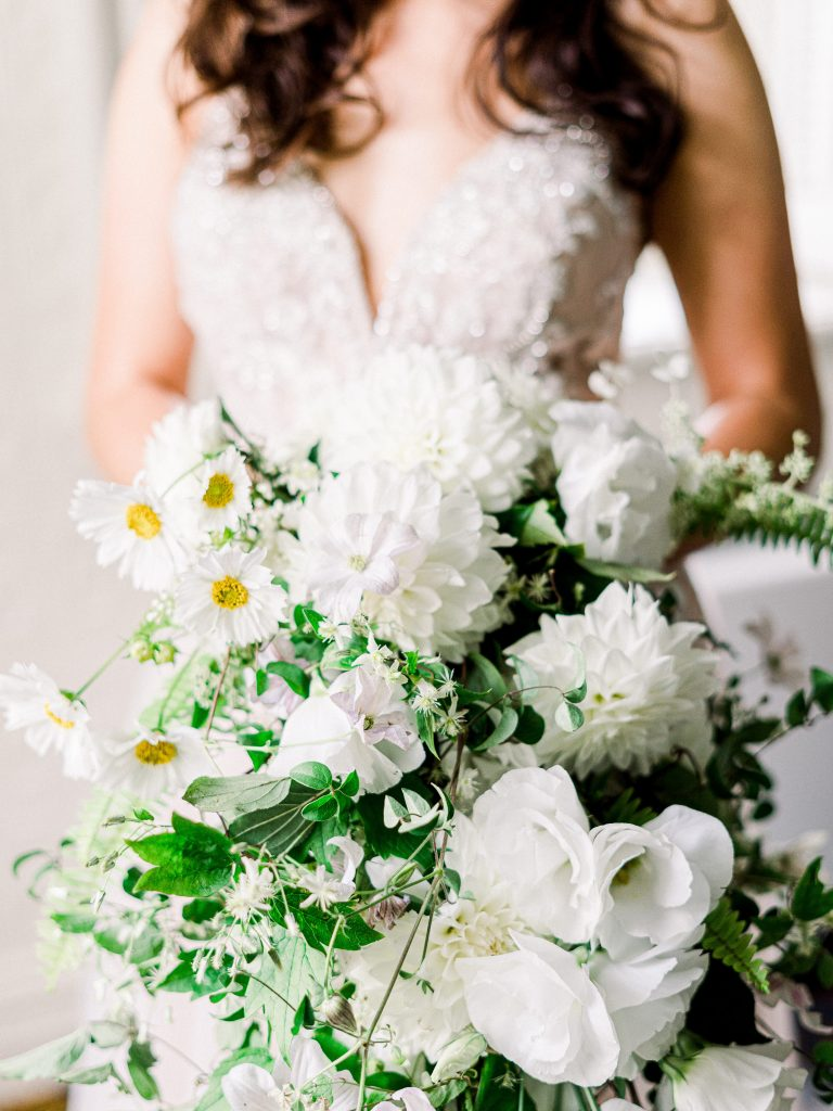 Cascade Bouquet at the St. James Hotel