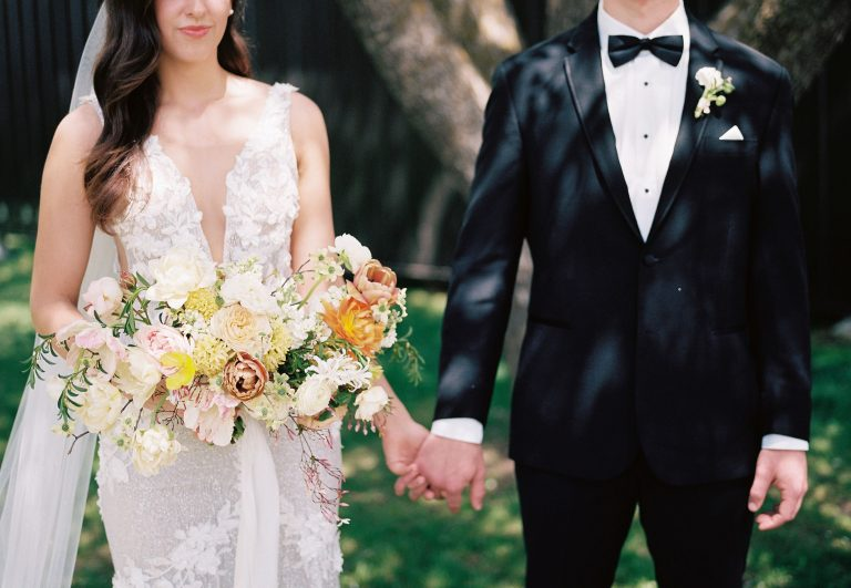 Spring Citrus Wedding At Ivory North